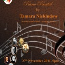 Piano Recital – Tamara Niekludow