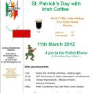 Irish Polish Society traditional celebration of  'Paddy's Day'