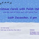 Christmas Carols with Polish Oplatek