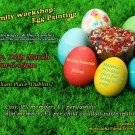 Easter Family workshop. Activity: Egg Painting