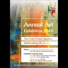 """Art Without Borders"" – the Irish Polish Society Annual Art Exhibition  2014"