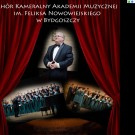 THE CHAMBER CHOIR OF THE FELIKS NOWOWIEJSKI ACADEMY OF MUSIC IN BYDGOSZCZ (POLAND) WILL SING IN DUBLIN – 28/04/15 and  CORK – 30/04/15 – 03/05/15