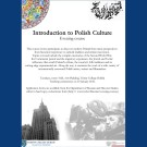 INTRODUCTION TO POLISH CULTURE