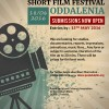 SHORT FILM FESTIVAL – ODDALENIA  JUNE 18, 2016 – SUBMISSIONS NOW OPEN