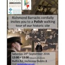 Richmond Barracks a Polish walking tour