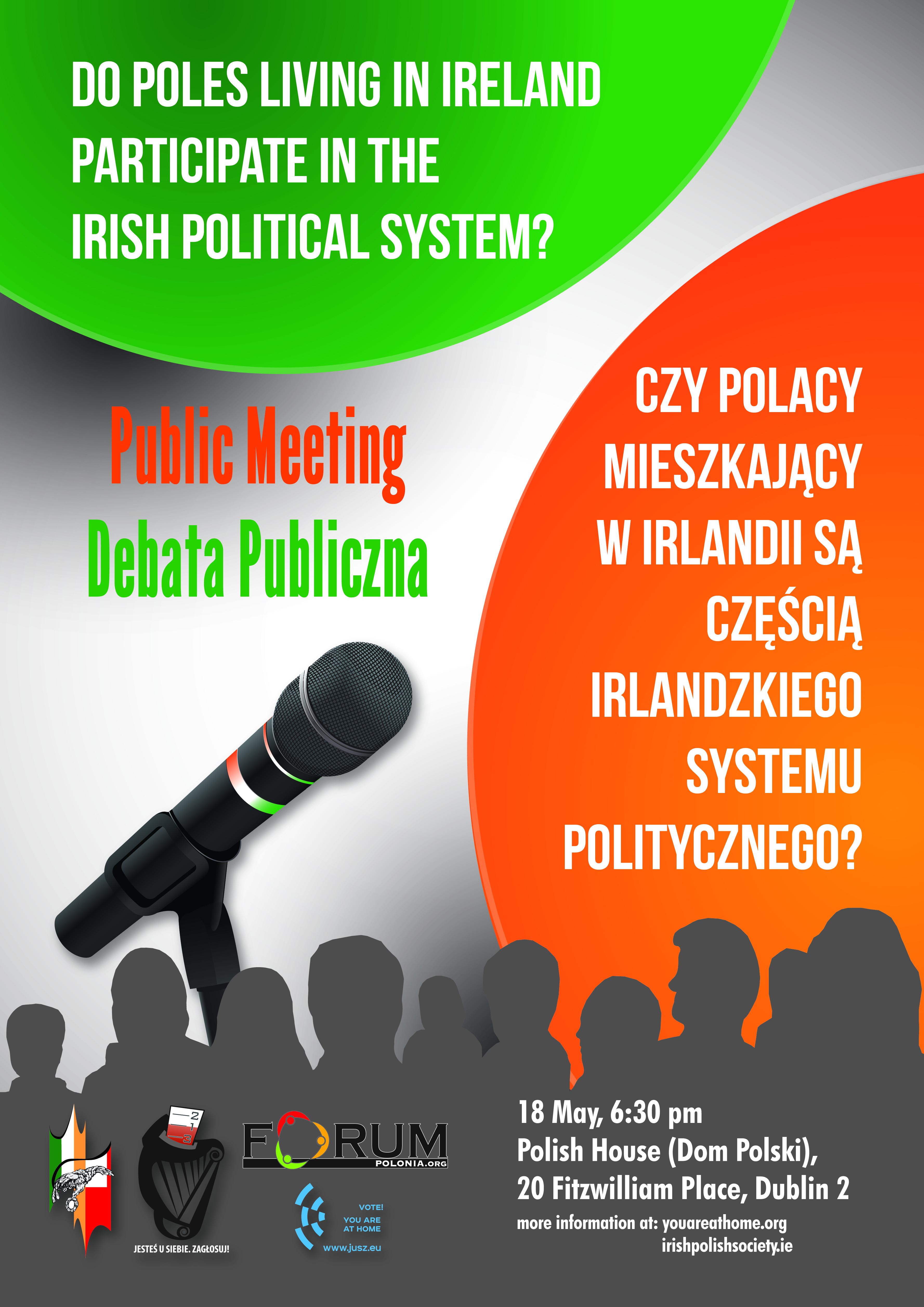 The Irish Polish Society and Forum Polonia cordially invite