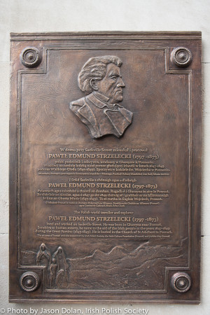 Strzelecki_Plaque_on_Clerys