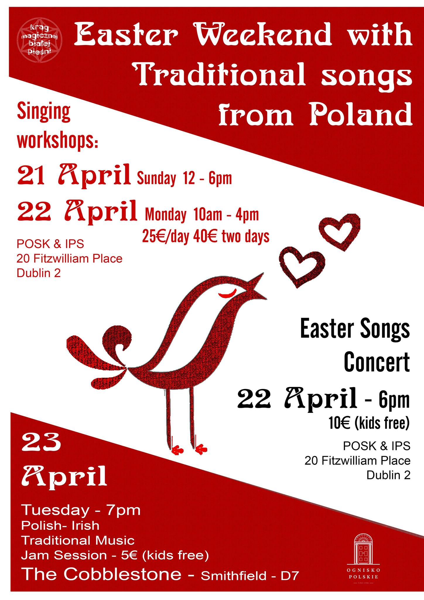 Traditional Easter Polish Songs Concert : Irish Polish Society